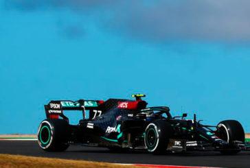 Fórmula 1: Bottas manda en los primeros libres de Portimao