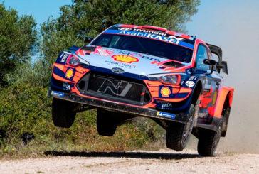 WRC: Dani Sordo arranca con fuerza en el Rally de Italia-Cerdeña