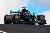 Fórmula 1: Hamilton con un brazo en la ventanilla, más de 25 segundos de ventaja!