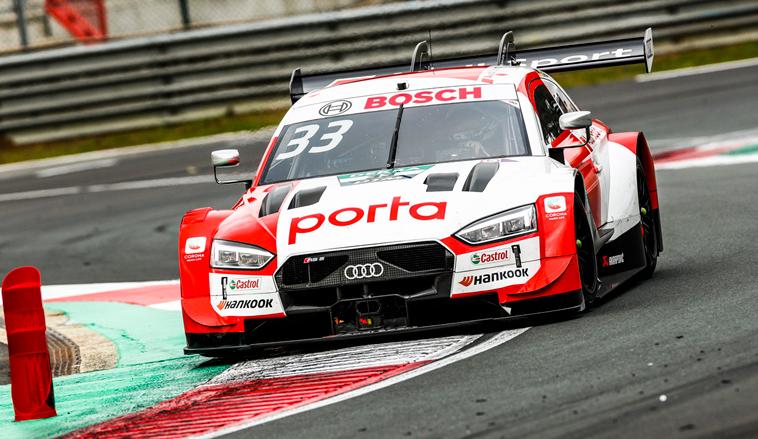 DTM: René Rast ya es líder del DTM tras ganar por tercera vez en Zolder