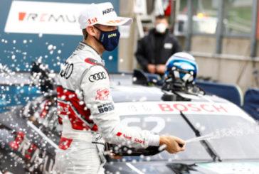 DTM: Segundo doblete de René Rast en Zolder, con podio de Robert Kubica