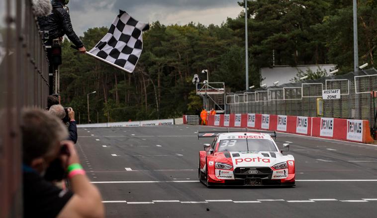 DTM: René Rast logra el doblete en Zolder en busca de su tercer título del DTM