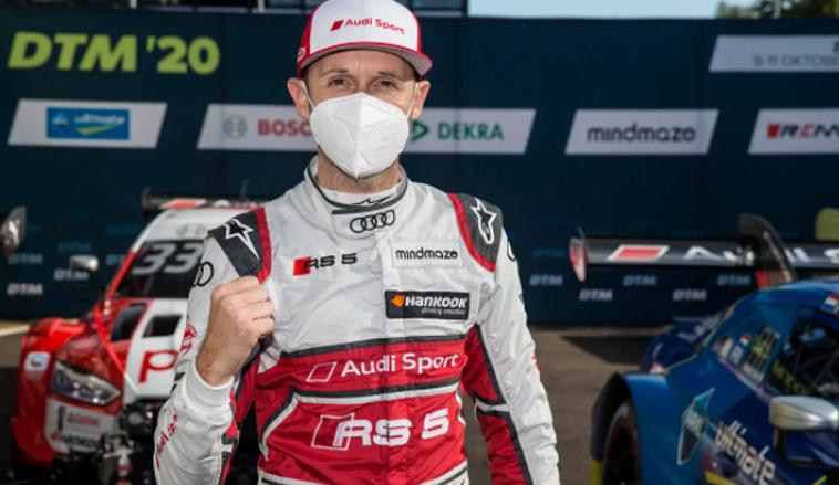DTM: René Rast logra un cómodo triunfo en la primera carrera en Zolder