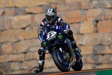 MotoGP: Viñales lideró los entrenamientos en Aragón