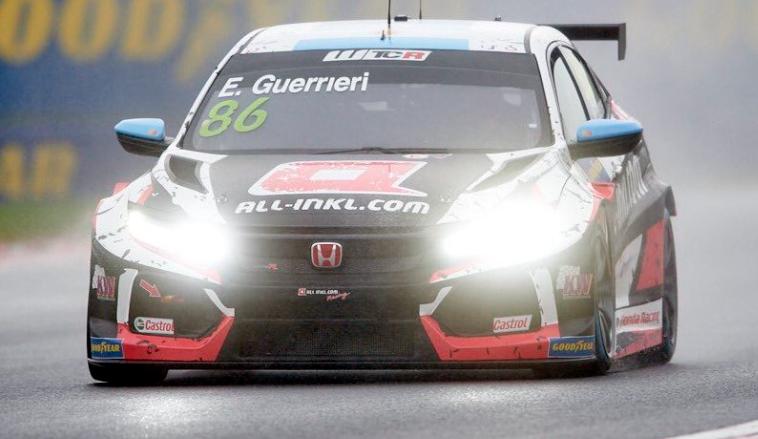 WTCR: Guerrieri se convierte en el poleman de Hungaroring