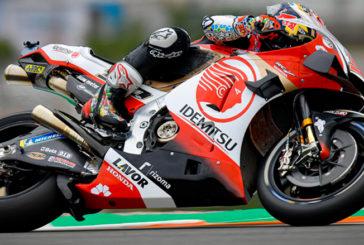 MotoGP: Takaaki Nakagami comenzó arriba en Valencia