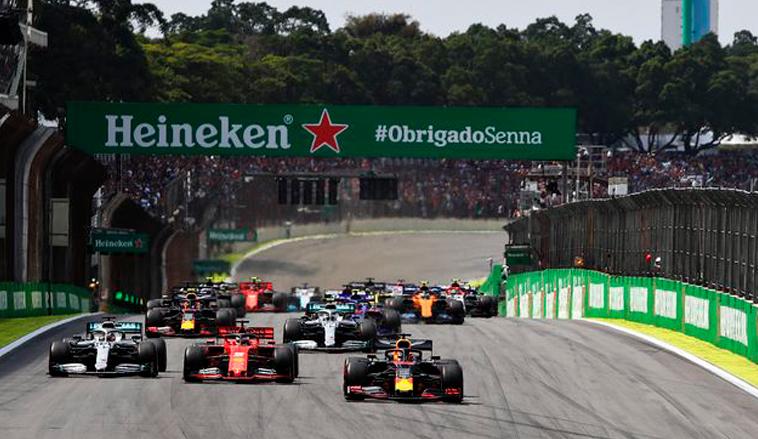 Fórmula 1: Así quedaría el calendario para la temporada 2021
