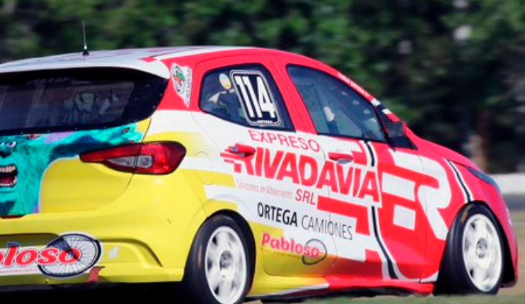 TN C2: Ortega y Posco lo más veloces de las series