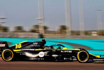 Fórmula 1:  Alonso logra el mejor tiempo y más de 100 vueltas en el test de Abu Dhabi
