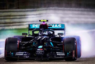 Fórmula 1: Bottas se lleva la pole de Sakhir sobre Russell por muy poco