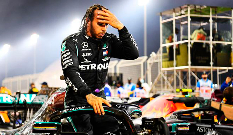 Fórmula 1: Lewis Hamilton, positivo por COVID-19, no competirá en el GP de Sakhir