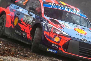 WRC: Neuville arrancó con buen ritmo en Monza