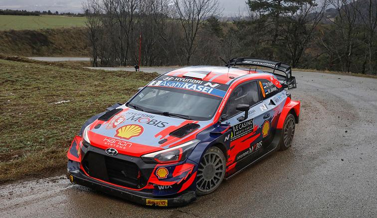 WRC: Doblete de Tänak en Montecarlo