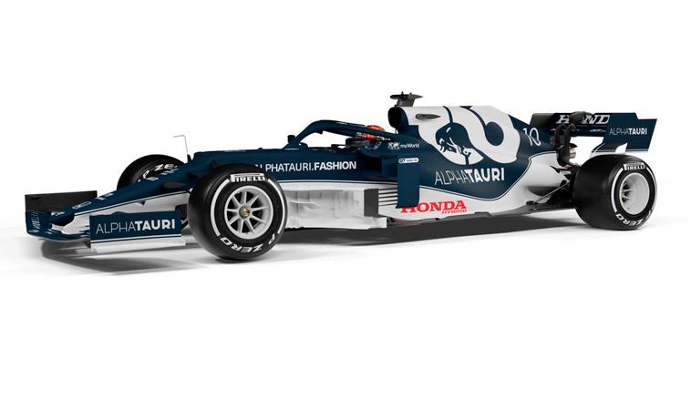 Fórmula 1: AlphaTauri presenta el AT02