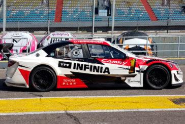 TRV6:  Rossi se quedó con el mejor tiempo y va por el título