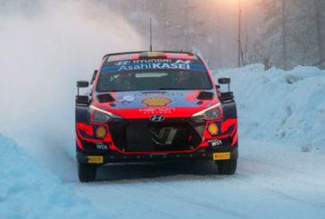 WRC: Tänak marca el mejor tiempo en el Shakedown del Artic