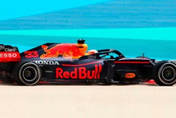 Fórmula 1: Verstappen se lleva el primer día de test; problemas para Mercedes y debut de Sainz con Ferrari