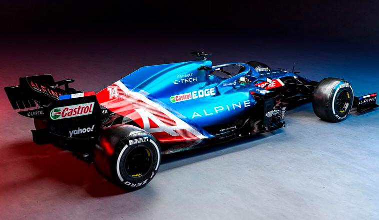 Fórmula 1: Se presentó el Alpine A521, el auto que marca el regreso de Alonso