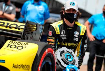 Indy Car: Colton Herta se quedó con la pole