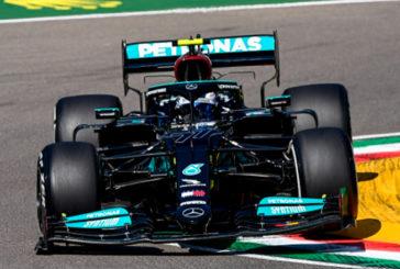 Fórmula 1: Bottas arrancó arriba en Imola, con Alonso en el 'top 10'