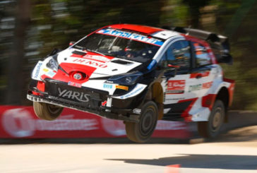 WRC:  Elfyn Evans marca la pauta en el shakedown del Rally de Portugal