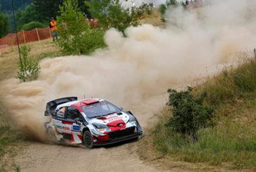 WRC: Kalle Rovanperä  no para de ganar en Estonia