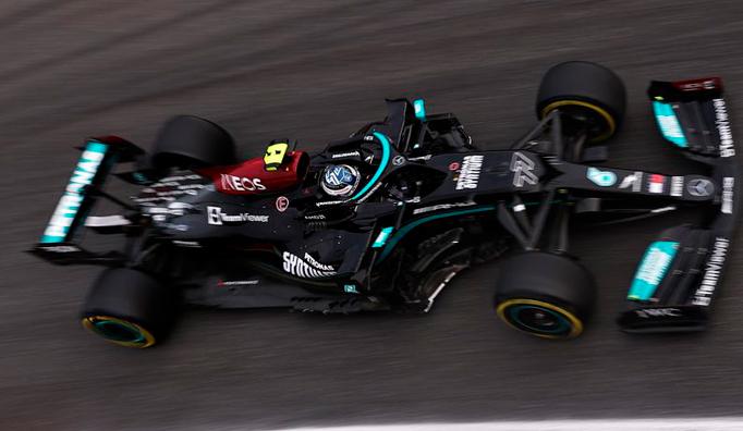 Fórmula 1: Bottas, fué el más rápido y saldrá primero en el sprint del sábado