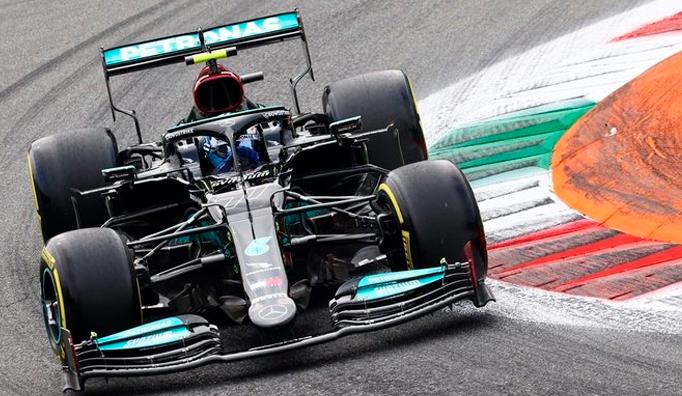 Fórmula 1: Victoria de Bottas en el sprint de Monza