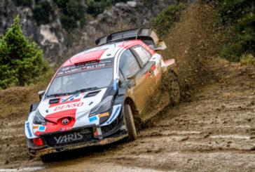 WRC: Ogier brilla en el Acrópolis de Atenas