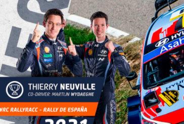 WRC: Neuville gana en España y el título se define en la última fecha