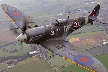 El Spitfire, el emblema de la RAF