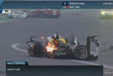Tremendo accidente de Mark Webber en Interlagos