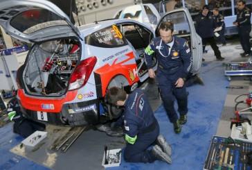 WRC: Sordo y Neuville iniciaron los test rumbo a Monte Carlo
