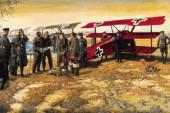 El Fokker DR1 del temible Barón Rojo