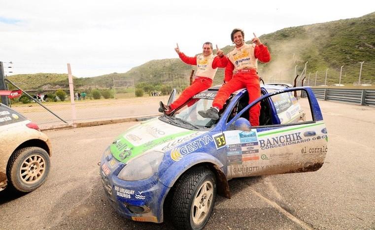 El paranaense Favio Grinovero, campeón de Rally Argentino en la Clase Junior