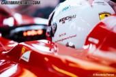 Un cuento de hadas….Vettel enamorado del rojo Ferrari
