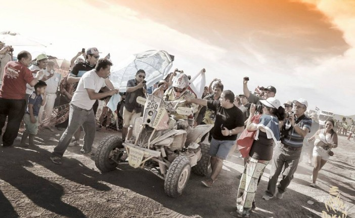 Dakar 2015 / Etapa 8: En motos Quintanilla y en cuatris, el joven argentino Gonzalez Ferioli