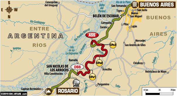 Dakar 2015 / Etapa 13: Rosario – Buenos Aires