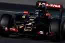 F1 Test Día 4: Romain Grosjean termina como líder en un accidentado día