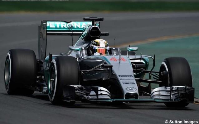 F1 Australia: ni el viento ni los rivales pararon a Hamilton y Mercedes para la pole