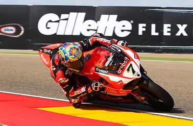 Superbikes: Chaz Davies lidera el primer libre en MotorLand, Mercado quedó 12do.