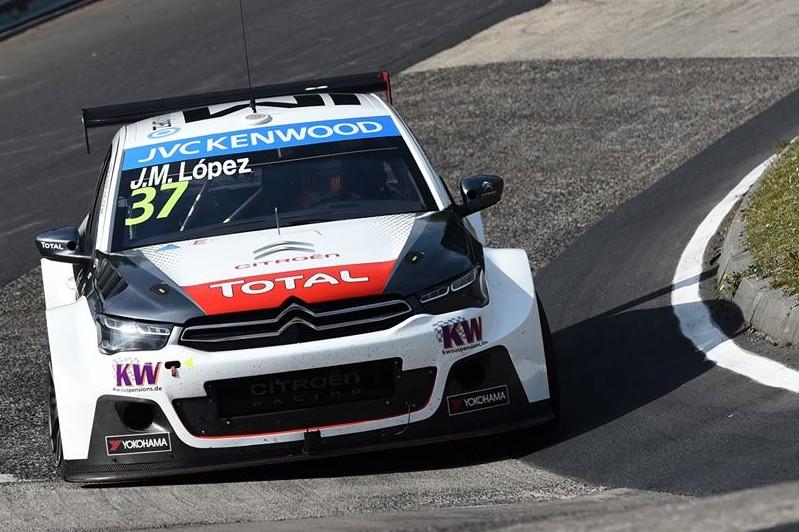 WTCC / Nürburgring: Pechito rompió relojes y se quedó con la pole