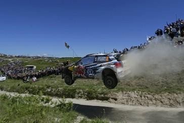 Rally Mundial: Latvala corta la «yeta» en Portugal