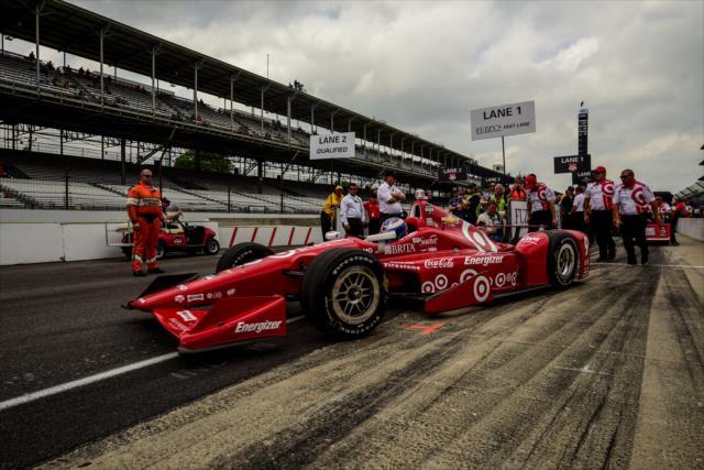 Indy 500: Dixon logró la pole para la edición 99 de la mítica carrera