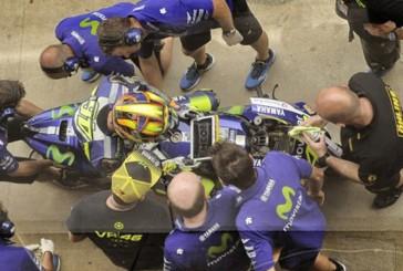 Moto GP: Lorenzo y Rossi prueban el nuevo chasis, pero no deciden si lo usarán en Holanda