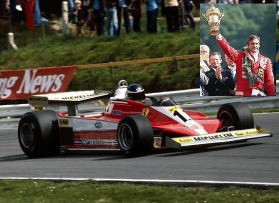El 16 de julio de 1978 C. Reutemann ganaba en Brands Hatch