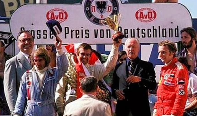 Un 3 de Agosto, pero de 1975, Reutemann triunfaba en Nürburgring