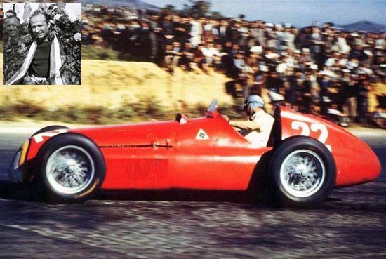 Juan M Fangio se consagraba campeón de Formula 1, por primera vez