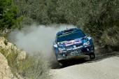 WRC: Ogier lidera el primer día en España