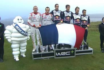 WRC: Ogier logra su octava victoria
